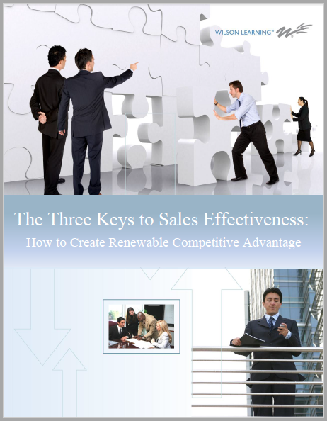 3 Strategies for Peak Sales Performance: How to Create Renewable Competitive Advantage