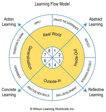 The Learning Flow Model