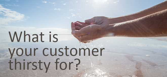 Quenching Your Customer's Thirst for Value